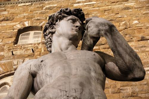 David di Michelangelo, esempio di virilità